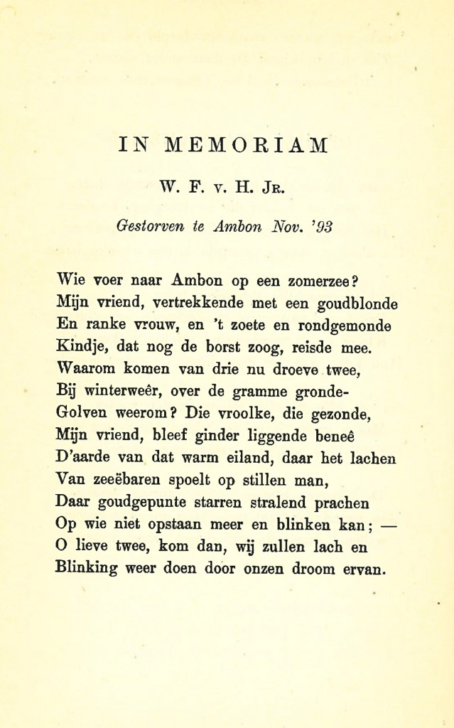 In Memoriam Van Hell