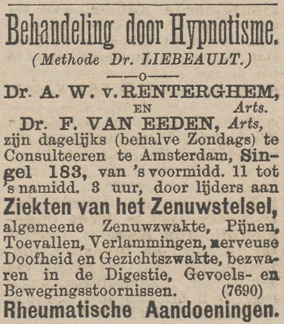 advertentie eeden renterghem 15-8-1887