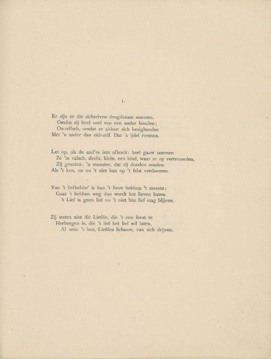 BS#Gedicht Van het leven